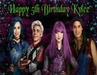 Descendants Personalized Edible Print Premium Cake Topper Frosting Sheet 5 Sizes