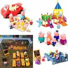 NEW Peppa Pig Family&Friends Figure Car Slide with Figures 2017 Toys Kids Gift