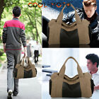 2016 New Arrival Men's Canvas Leather Vintage Travel Satchel Tote Fashion Bag AA