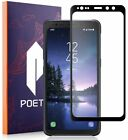 For Samsung Galaxy S8 Active Poetic [HD Clear] Tempered Glass Screen Protector