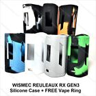 WISMEC RX GEN3 silicone case + Free Vape ring