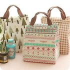 Portable Tote Thermal Insulated Lunch Box Bag Cooler Picnic Pouch X-mas YU