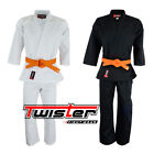 Twister Student Middleweight  Karate Uniform /GI with free White Belt 8.5oz