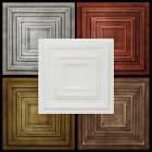 Styrofoam Ceiling Tile 20x20 Glue Up Painted Different Colors R33 PACK OF 6