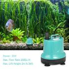 2500L/H 25W/35W  Submersible Water Pump Aquarium Fish Tank with 2 Nozzles O6Y9