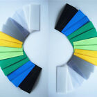 50pcs PVC Heat Shrink Tubing Size AAA Batteries(Have been cut)Multiple Colors ES