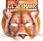 Unisex Adults Halloween Fancy Party Animal Fur Realistic Face Mask One Size
