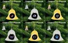 ICE HOCKEY HEAVY WEIGHT GOLD OR SILVER COLOUR CHRISTMAS HANGING BELL GIFT IDEA $8.98 USD on eBay