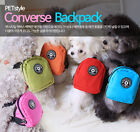 PETSTYLE CONVERSE BACKPACK S/M  Small Dog Carriar Adjustable Strap Puppy Cat Pet
