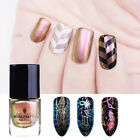 Rose Gold Chameleon Stamping Polish Born Pretty Plate Printing Nail Art Varnish