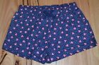 H & T Girls Printed Shorts - BLUE - SIZES - 1,2,3,4,5,6 & 7 YEARS - NEW