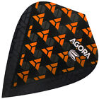 TARGET AGORA Vision Ultra Kite Dart Flights orange 100 Mikron stark NEUHEIT