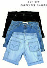 Mens Vintage Levi Strauss Denim Cut Off Carpenter Shorts Various