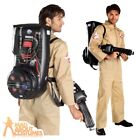 Ghostbusters Fancy Dress Adult Mens Ghostbuster 1980s Halloween Costume Outfit
