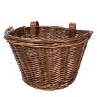 Wicker Bike Bicycle Basket Shopping Basket Cycle Shopping With Handle <br/> CLEARANCE! GOOD QUALITY! BEST PRICE!