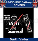 Darth Vader 18650 PVC Heat shrink Shrink Wrap Battery covers Various Styles
