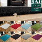 SMALL X LARGE SIZE THICK PLAIN SOFT SHAGGY RUG NON SHED 5cm PILE MODERN RUGS LUX