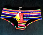 2Chillies Carnivale Boyleg Pant Contrast Waistband Bikini Bottom RRP $64.95 SALE