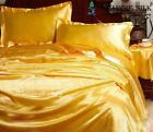 16.5MM Pure Silk Fitted Flat Pillowcases 4pcs Sheets Set