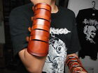 LEATHER VIKING GAUNTLET ...(MDLG0224).... DARK TRANQUILLITY