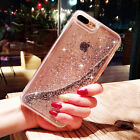 Luxury Dynamic Liquid Glitter Quicksand Clear Case Cover For