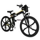 "19'' 26"" Folding Electric Mountain Bike Off-Road Bicycle Ebike Lithium 250W USA"