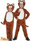 Kids Tiger Costume Boys Girls Cat Zoo Fancy Dress World Book Day Animal Outfit