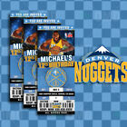 Denver Nuggets Ticket Style Sports Party Invites on eBay