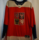 TEAM CZECH REPUBLIC 2016 World Cup of Hockey Premier RED Hockey Jersey NWT