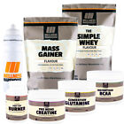 WELLNESS WAREHOUSE - MASSIVE BUNDLE - PROTEIN - CREATINE - FAT BURNER - BCAA +