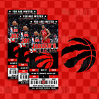 Toronto Raptors Ticket Style Custom Sports Party Invitations on eBay