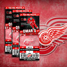 Detroit Red Wings Ticket Style Sports Party Invites $60.0 USD on eBay