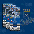 Kansas City Royals Ticket Style Sports Party Invites on Ebay