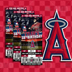 Los Angeles Angels Ticket Style Sports Party Invites on Ebay