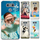 Personalised Custom Photo Hard Case Phone Cover for LG