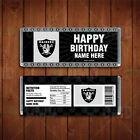 Oakland Raiders Sports Party Candy Bar Wrappers on eBay