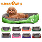 Dog Cat Bed Kennel Puppy Cushion Mat Soft Warm Waterproof Pet House S/M/L-XXXL