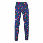 New Just One Women's Plus Size Christmas Tree Holiday Leggings