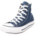 Converse Chuck Taylor Allstar Mens Blue Canvas Casual Trainers Lace-up