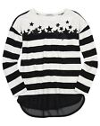 Mayoral Junior Girl's Striped Top with Stars, Sizes 8-18