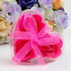 Party Decor Flower Wedding Favor Heart-Shaped Valentine's Day Gifts Rose Soap