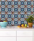Moroccan Tile Wall Stair Sticker Decal Kitchen Bathroom Floor Self Adhesive44 pc