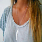 Feather Pendant Chain Necklace,Gold/Silver,Hippy boho,Xmas Gift.