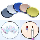 Mirror Glass Nail Tips Display Board Color Palette Practice Shelf Nail Art Tools
