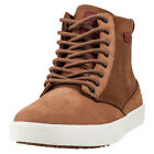 Etnies Jameson Htw Hi Top Mens Brown Nubuck & Suede Casual Trainers Lace-up