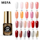 MEFA UV LED 4/5/6Pcs Set Gel Nail Polish Kit Soak-off Manicu