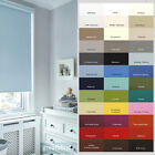 Blackout Roller Blinds Made To Measure 36 Colours FREE 24 HOUR EXPRESS DELIVERY