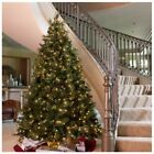 Beautiful and FULL Pre Lit Artificial Christmas Tree w/ Pine Cones CHOOSE Height