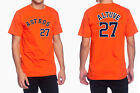 José Altuve - Houston Astros - MLB #27 Jersey Style Mens Graphic T on Ebay