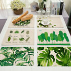 Tableware Mats Heat Resistant Cottonseed Mats Modern Style Placemat Dining Pad